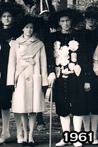Het koningspaar 1961