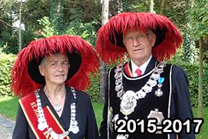 Het koningspaar 2015-2017