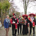 Bezoek aan beschermvrouw Sint Jorisgilde